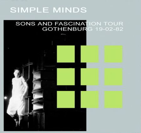 Sons And Fascination Tour - CD album