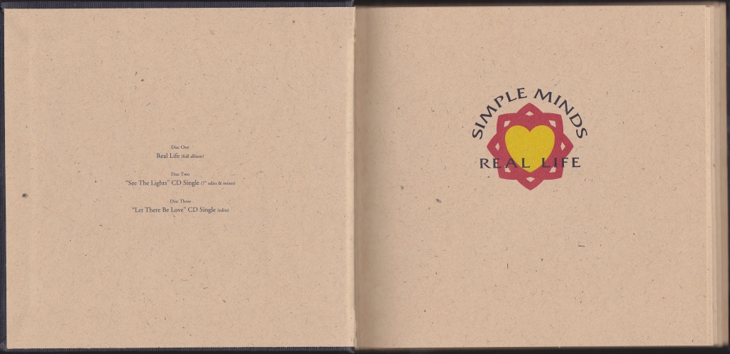 "CD album + 2 x 5"" CD single (Hardcover Book Including Album And) - Jaquette arrière"